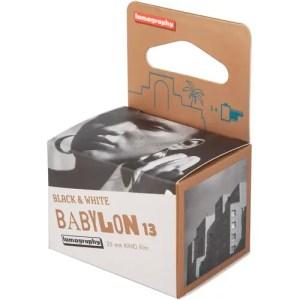 Lomography Babylon Kino 13 Black and White Negative Film