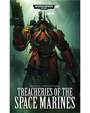 Treacheries of the Space Marines book cover