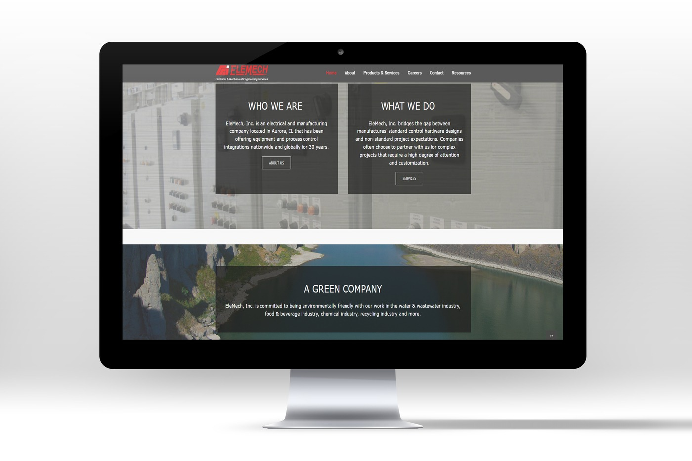 Website: Electrical & Manufacturing Company - Black Line Consulting