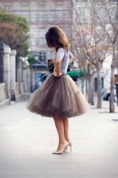 Collage Vintage in Asos Tulle Skirt