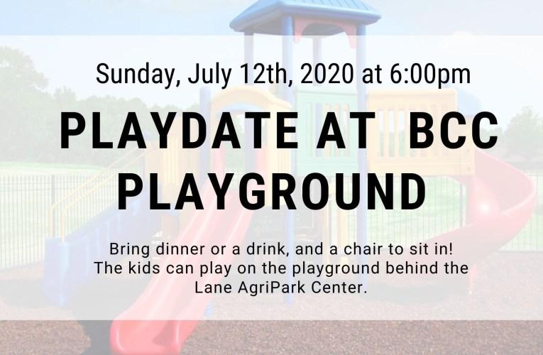 Playdate at BCC Playground