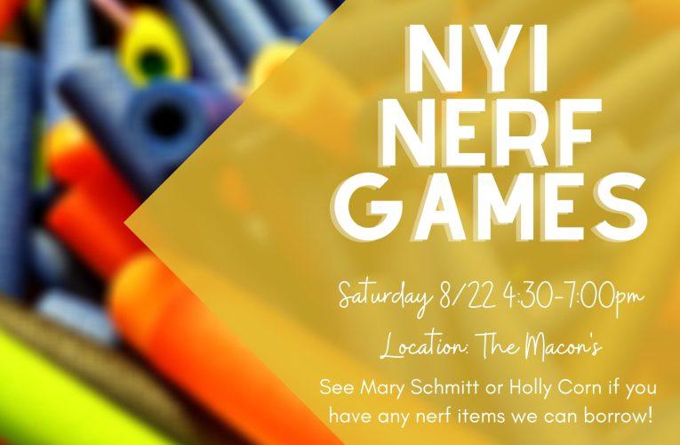 NYI Nerf Games