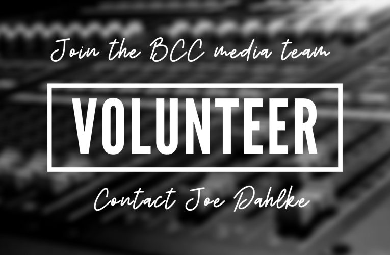 Join The BCC Media Team