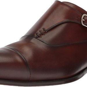 Mezlan Men's Cartago Monk-Strap Loafer