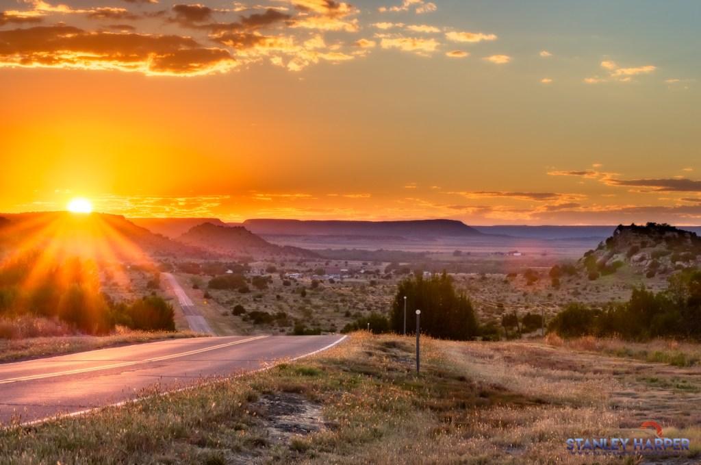 Kenton, Oklahoma Sunset