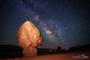 Balanced Rock at Marble Canyon