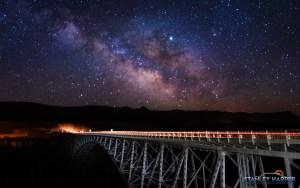 Milky Way Over Navajo Bridge