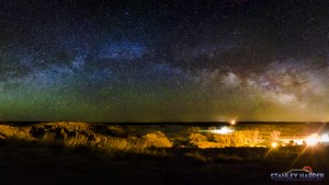 Lake Etling Campground Milky Way