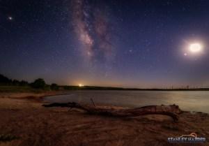 Palo Duro Lake Milky Way