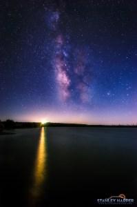 Palo Duro Milky Way Vertical