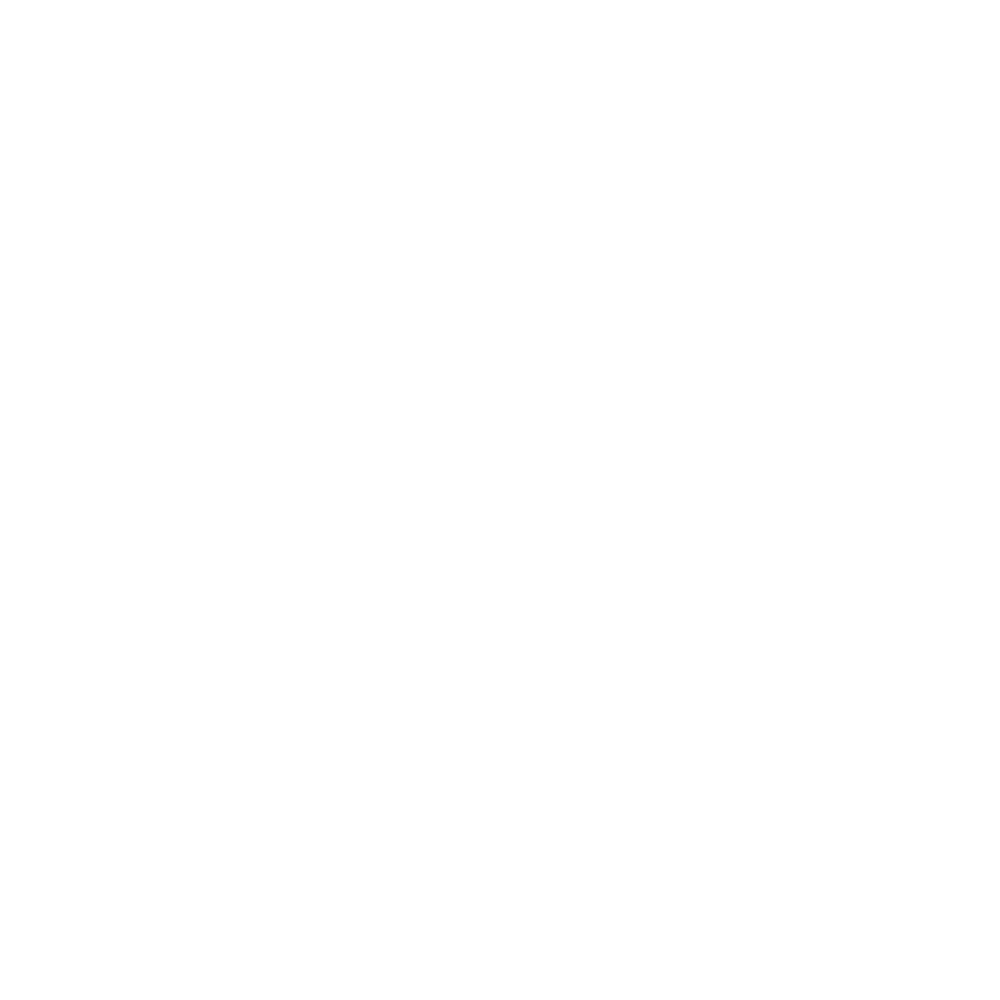 Blackmetric logo - letter B with a full stop and a ruler below it