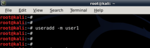 How to add remove user - Standard usernon-root - in Kali Linux - blackMORE Ops -2