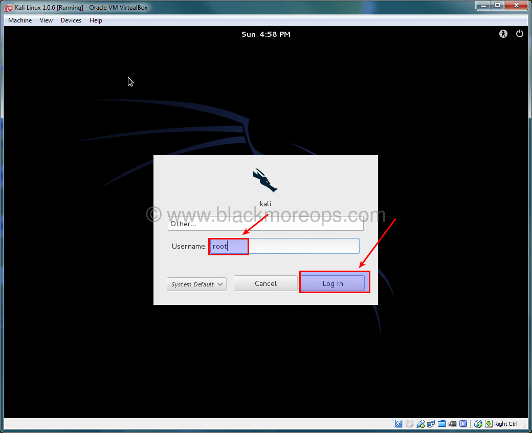 A detailed guide on installing Kali Linux on VirtualBox - blackMORE Ops - (42)