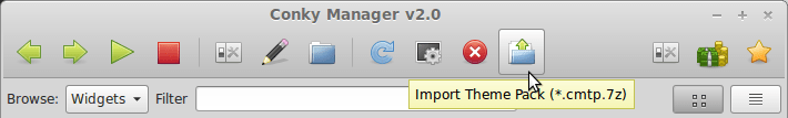 import_themes on Conky-Manager