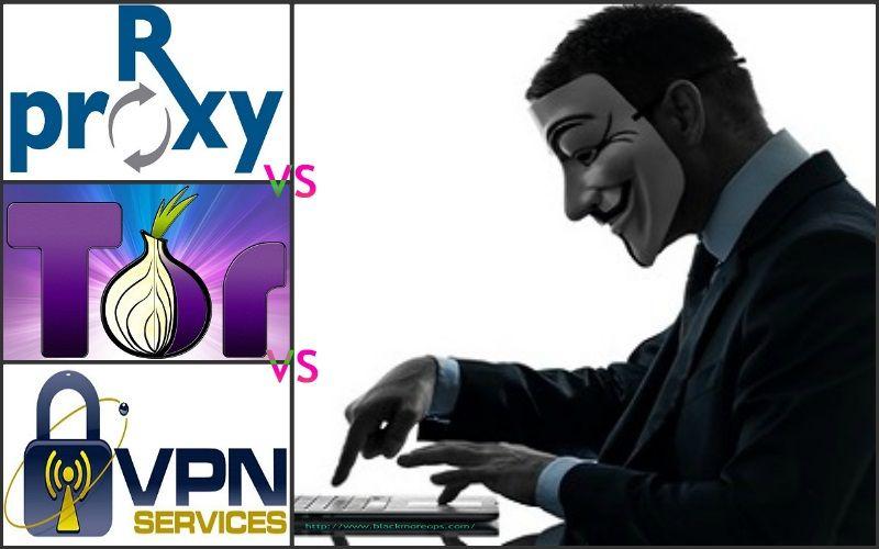 Proxy, VPN, TOR ve TOR ve VPN'i birlikte kullanmanın avantajları ve dezavantajları - blackMORE Ops - 1