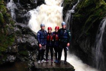 the cascade on the gorge walk