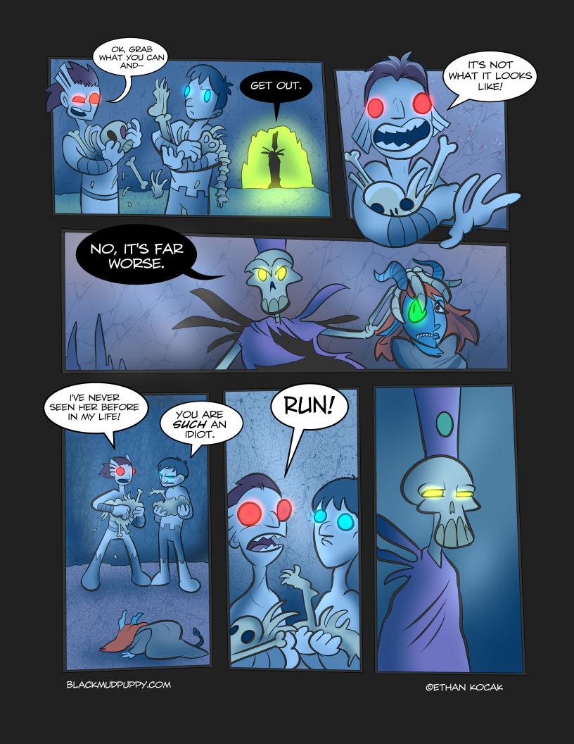 Blood Smoke And Mirrors Page 11