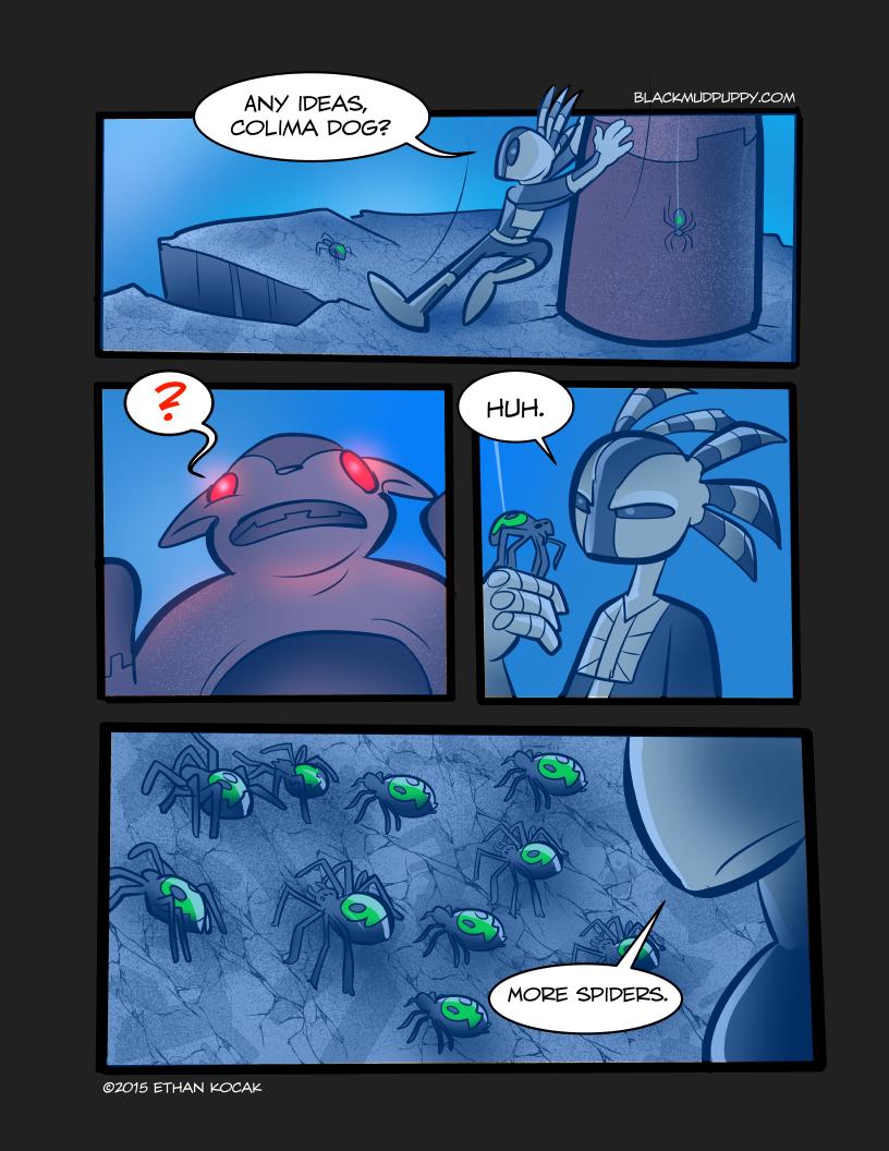 Blood Smoke And Mirrors Page 30