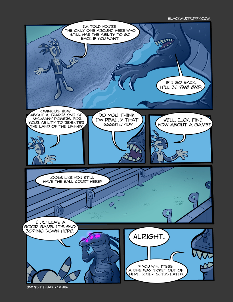 All Bleeding Stops Eventually Page 7