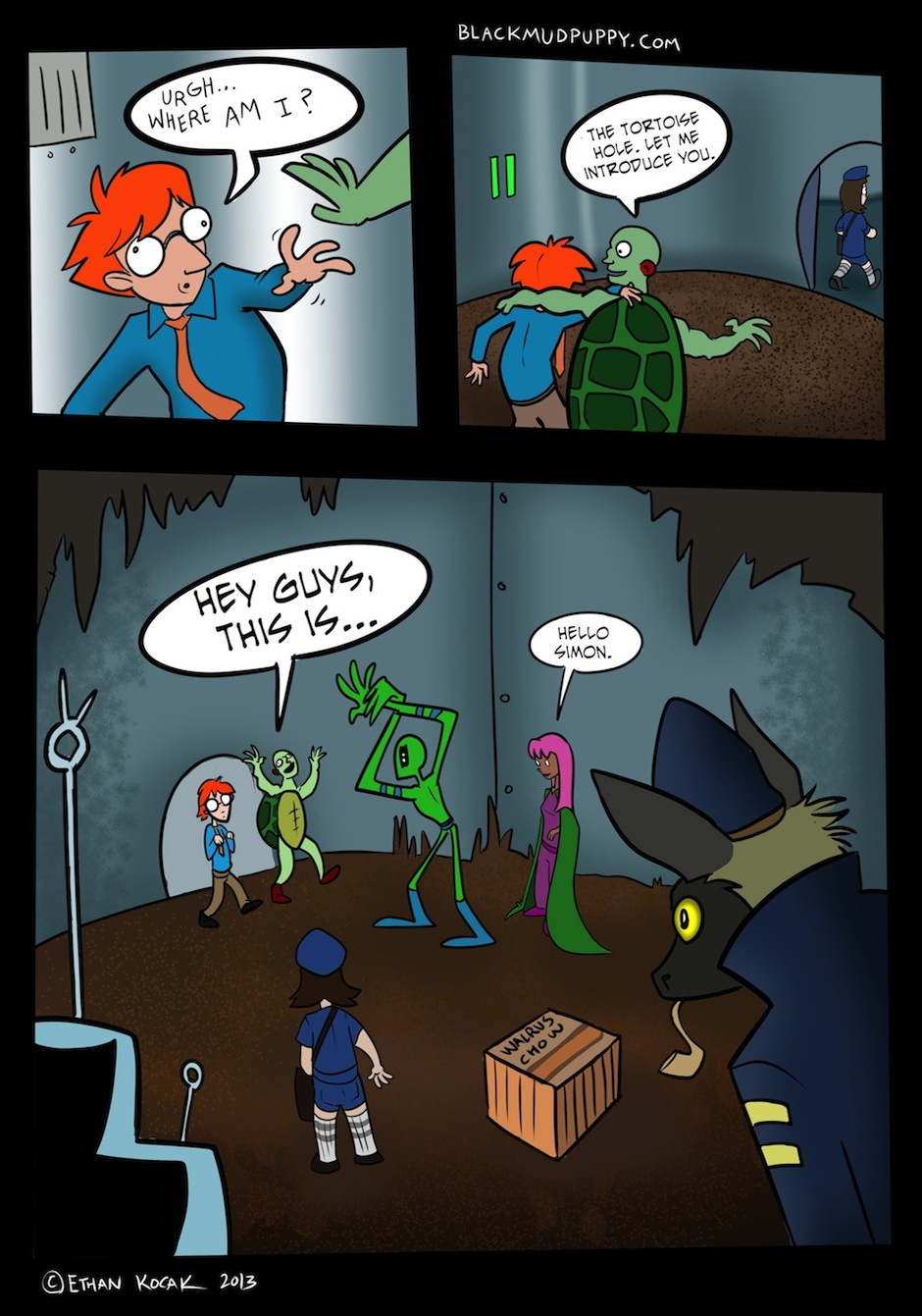 The B Vengers Page 16