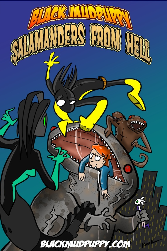 Salamanders From Hell Cover