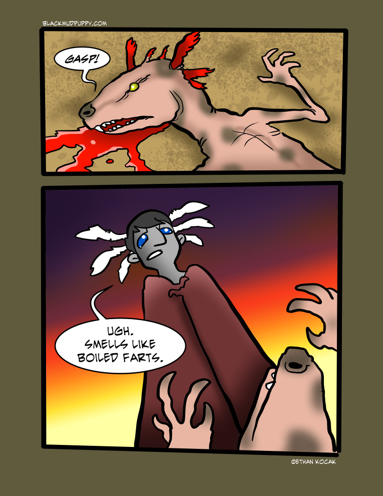 Salamanders From Hell Page 45