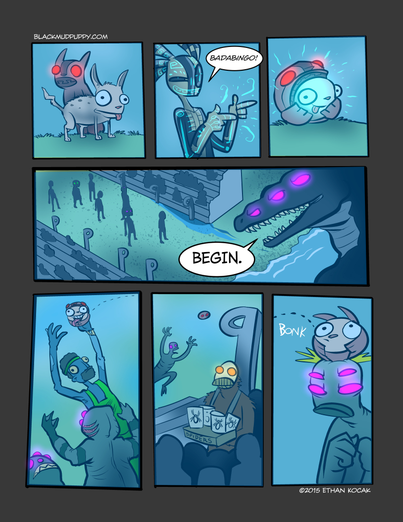 All Bleeding Stops Eventually Page 11