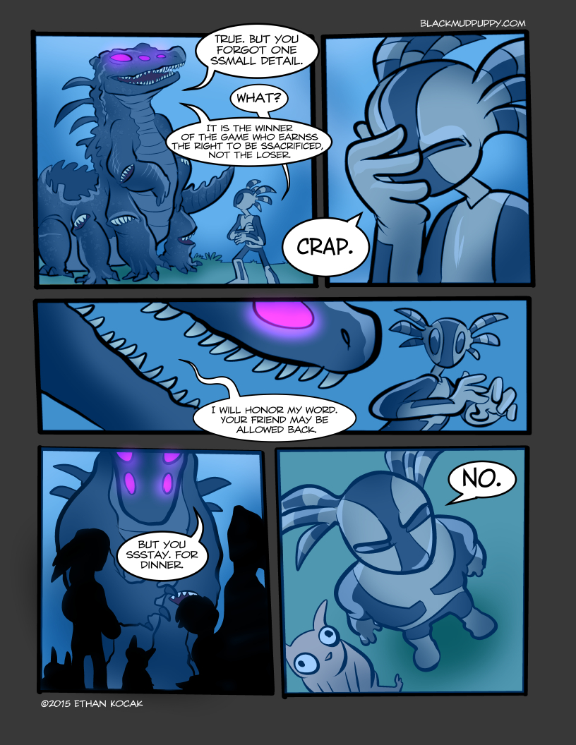 All Bleeding Stops Eventually Page 14