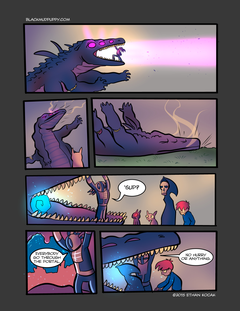 All Bleeding Stops Eventually Page 17