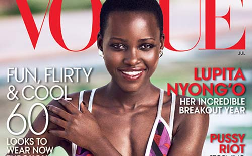 Lupita Nyong'o on Vogue Cover