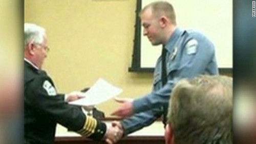Officer Darren Wilson testifies