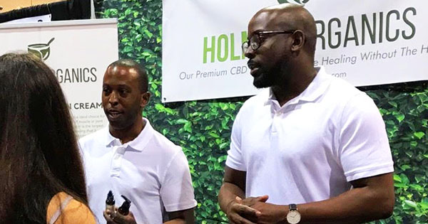 Cory Holmes, founder of Holmes Organics