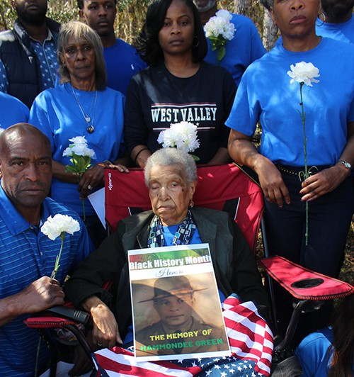 Family of Hammondee Gree, a Black World War II veteran who was murdered