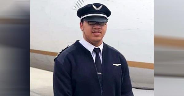 Malik Sinegal, first African American Boeing 777 pilot