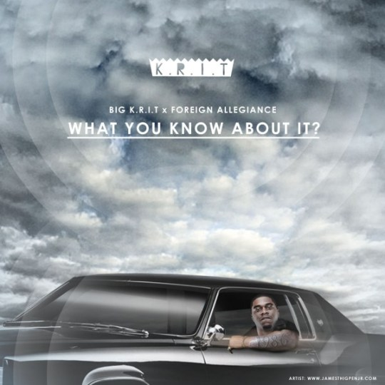 "As part the Big Mix competition, VIBE and McDonald's teamed up to find by far the most impressive beats from upcoming music producers that truly deserve to get their name out into the industry. The winner happened to be Michigan natives Foreign Allegiance, who were given the opportunity to work with Big K.R.I.T. on a track titled ""What You Know About It."" There's no doubt whether they gave the rapper a chance to shine on the record, and we should expect to hear more from them in plenty of future releases."
