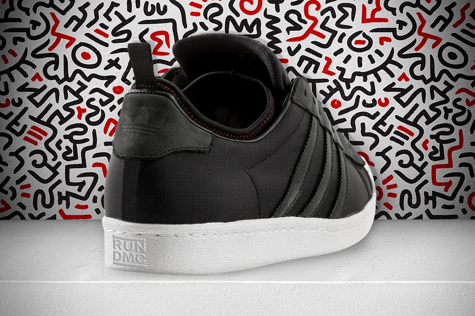 ce7eba2ec2e6 Run DMC x Keith Haring x adidas Originals present  Superstar 80s ...