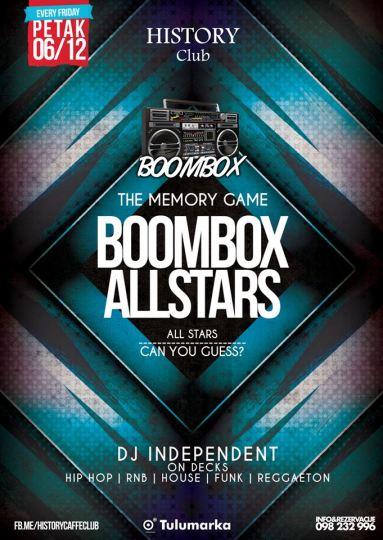 history boombox 6-12