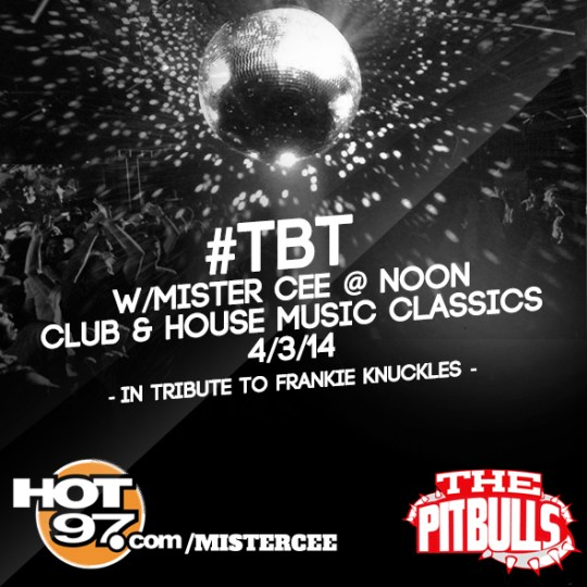 DJ Mister Cee - Club & House Music Classics (Tribute to Frenkie Knuckles)