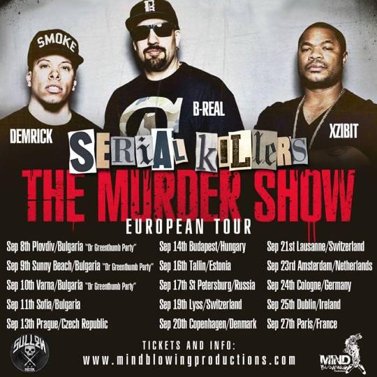 Serial Killers - The Murder Show (European Tour)