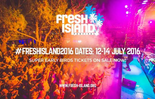 Fresh Island Festival 2016 Dates Announced!