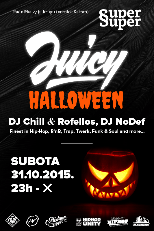 Juicy Halloween @ Super Super, Zagreb