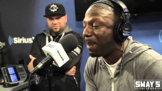 Video: Ras Kass on Sway in the Morning (Concert Series)