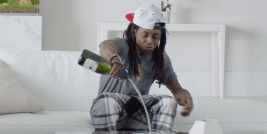 Lil Wayne In New Samsung Commercial
