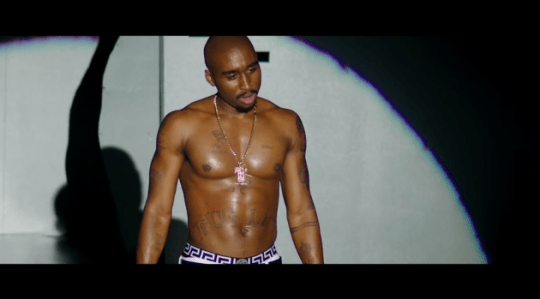 "Watch the First Trailer for Tupac's Biopic ""All Eyez on Me"""