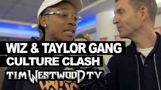 Video: Wiz Khalifa & Taylor Gang Backstage @ Red Bull Culture Clash w/ Tim Westwood