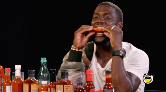 "Watch Kevin Hart on ""Hot Ones"""