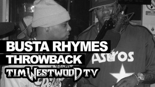 Busta Rhymes & Spliff Star Freestyle for Tim Westwood (1999)