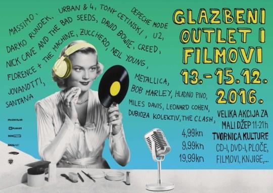 Glazbeni outlet @ Tvornica kulture, Zagreb (13. - 15. 12.)