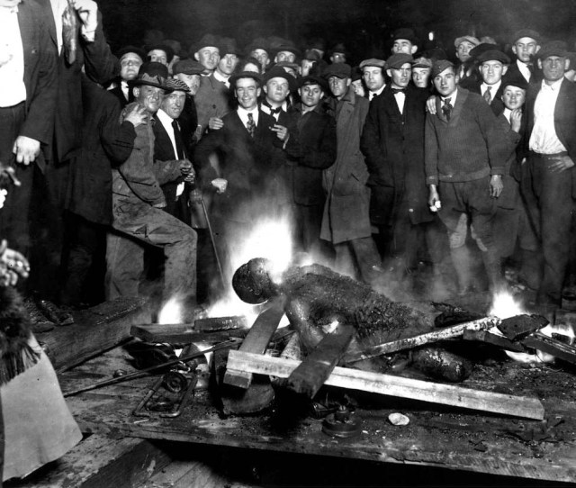 The Omaha Courthouse Lynching Of