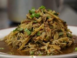 ซุปหน่อไม้ bamboo shoots salad